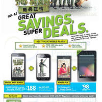 Read more about Starhub Smartphones, Tablets, Cable TV & Mobile/Home Broadband Offers 27 Oct - 2 Nov 2012