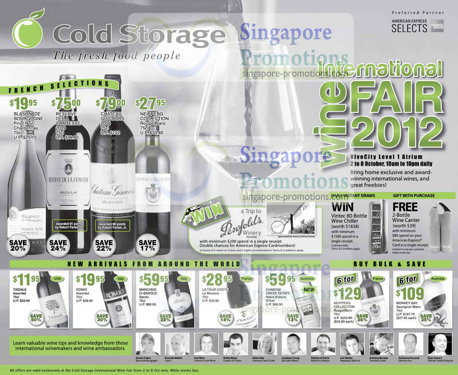 Cold Storage 2 Oct 2012