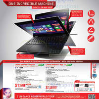 Read more about Lenovo Windows 8 Notebooks, Desktop PC & AIO Desktop PC Offers 26 Oct - 18 Nov 2012