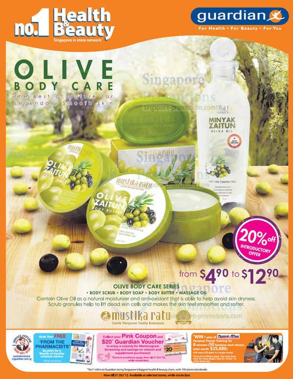 Olive Zaitun Minyak Mustika Ratu Guardian Health