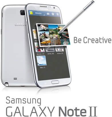 Samsung Galaxy Note II LTE 17 Oct 2012
