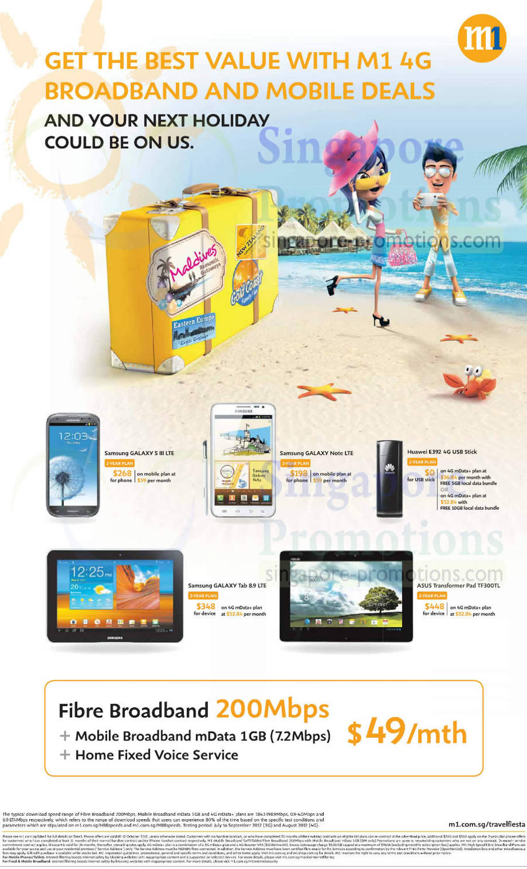 Samsung Galaxy S III LTE, Samsung Galaxy Note LTE, Samsung Galaxy Tab 8.9 LTE, ASUS Transformer Pad TF300TL