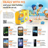 Read more about M1 Smartphones, Tablets & Home/Mobile Broadband Offers 20 - 26 Oct 2012