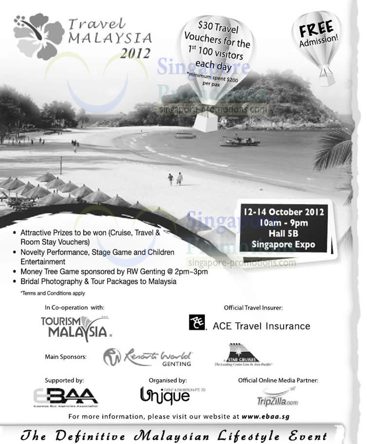 Travel Malaysia 2012 Event Details