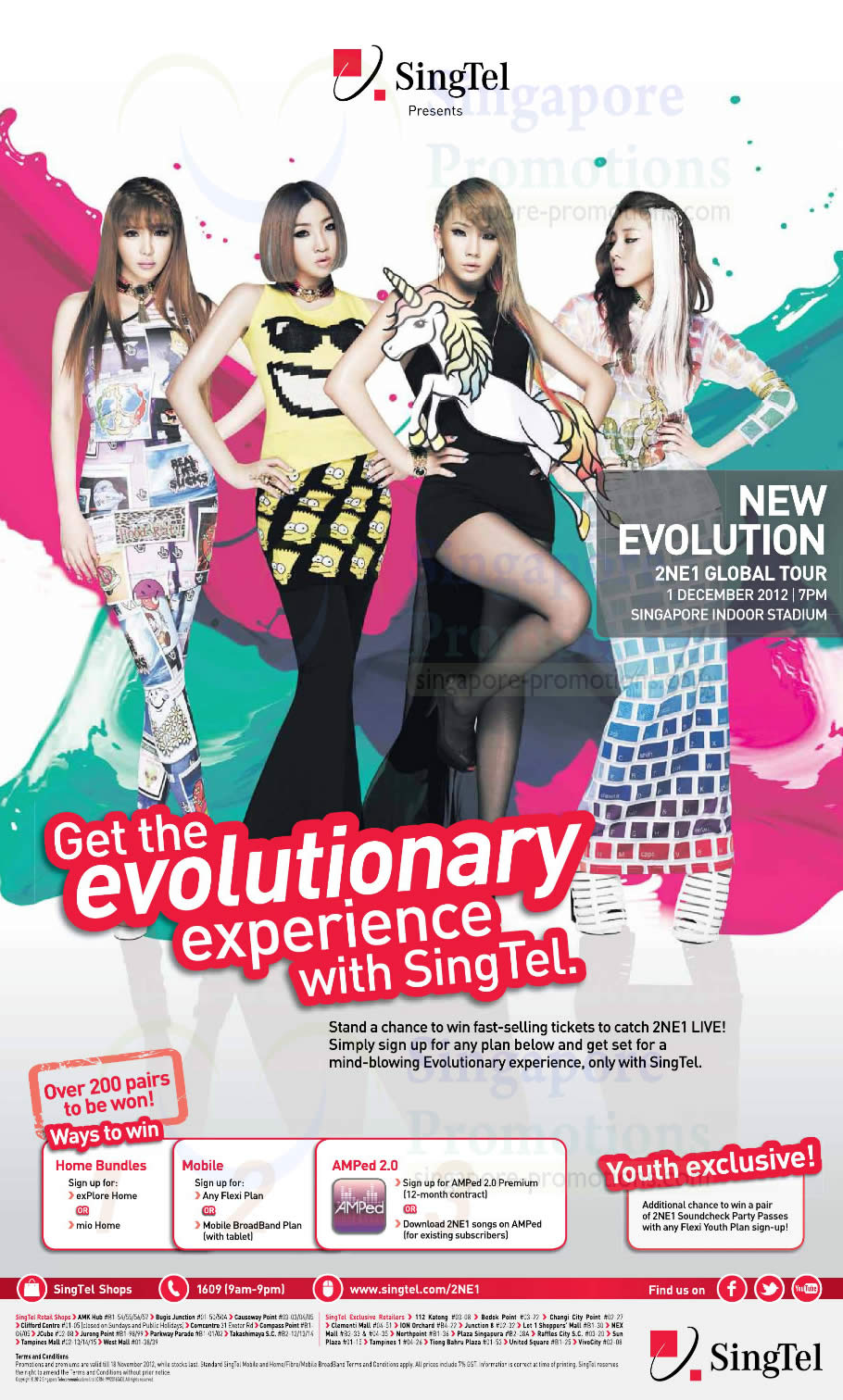 Win Tickets To Catch New Evolution 2NE1 Global Tour