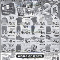 Read more about World of Sports 20% Off Special Buys Offers 19 Oct - 1 Nov 2012