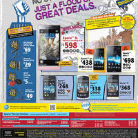 Read more about 6range Sony Smartphones No Contract Price List Offers 3 Nov 2012