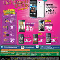 Read more about 6range Sony Smartphones No Contract Price List Offers 9 Nov 2012