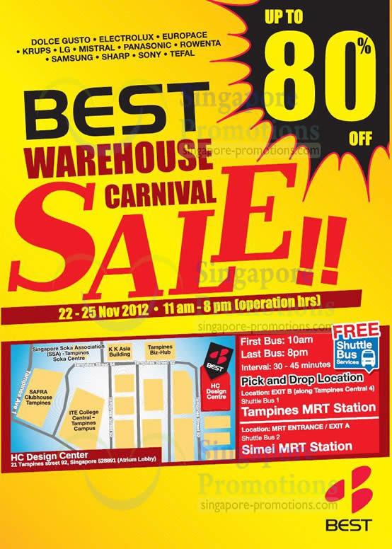 Best Denki Warehouse Carnival Sale Dates, Time, Venue