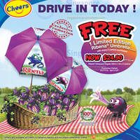 Read more about Cheers & Fairprice Xpress FREE Ribena Umbrella With 2 Carton Purchase 7 - 30 Nov 2012