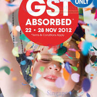 Read more about Sony Days 2012 GST Absorbed Sale Price List 22 Nov 2012 - 1 Jan 2013