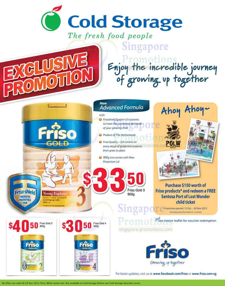 Friso Gold 3 Milk Powder, Friso Gold 2 Milk Powder, Friso Gold 4 Milk Powder