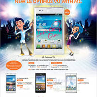 Read more about M1 Smartphones, Tablets & Home/Mobile Broadband Offers 3 - 9 Nov 2012