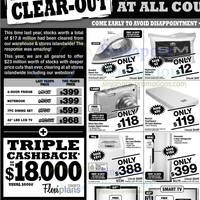 Read more about Courts Massive Clear-Out Promotion Offers 2 - 5 Nov 2012