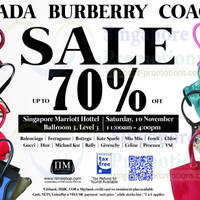 Read more about Nimeshop Branded Handbags Sale Up To 70% Off @ Marriott 10 Nov 2012