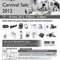 Read more about Philips Carnival Sale 2012 @ Toa Payoh 17 - 18 Nov 2012