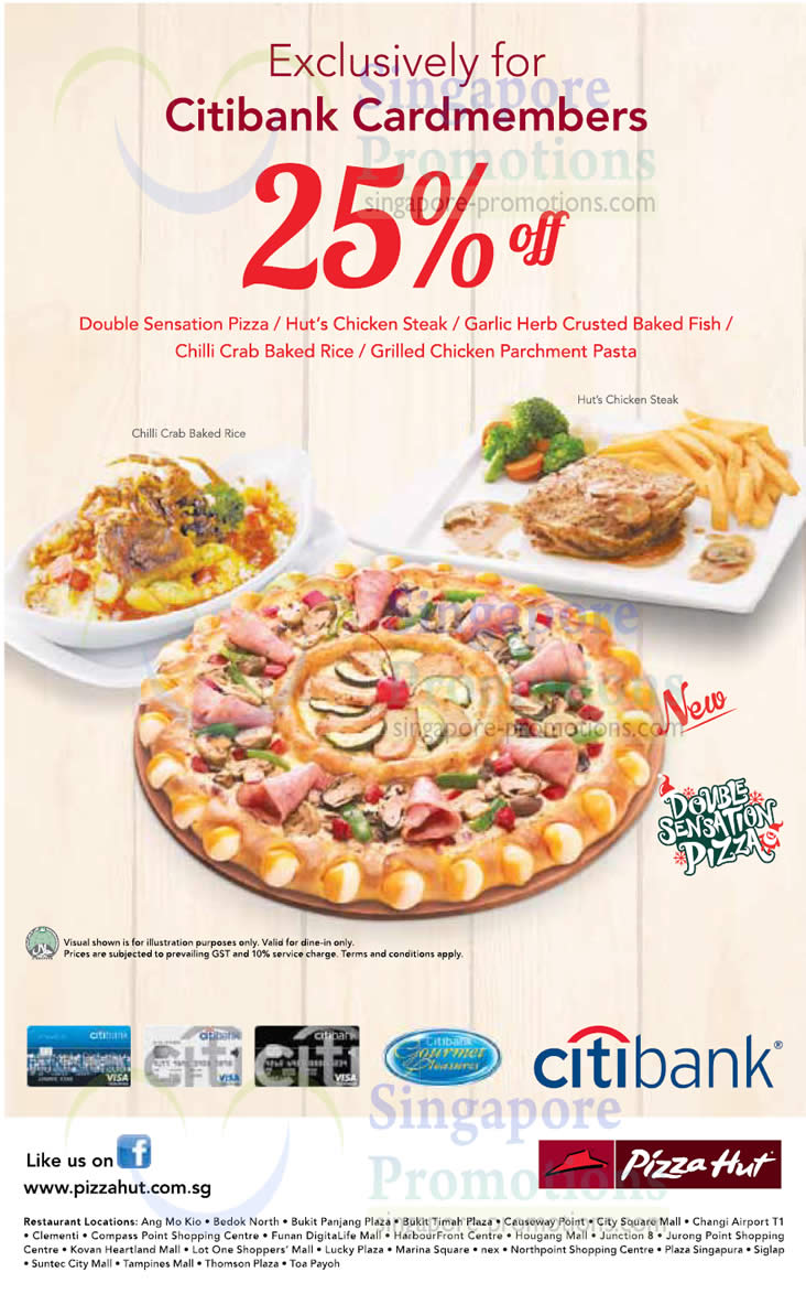 Pizza Hut 25 Off Selected Menu Items For Citibank  : Pizza Hut 22 Nov 2012 from singpromos.com size 732 x 1174 jpeg 136kB