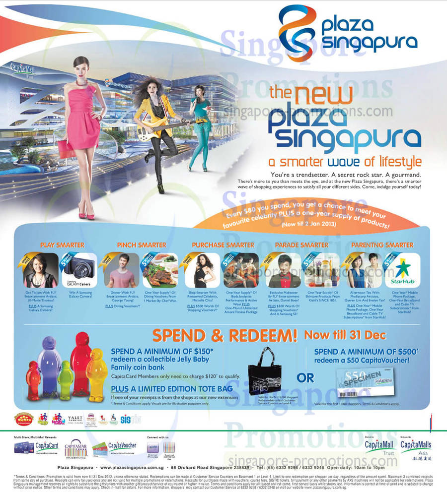 Play, Pinch, Purchase, Parade, Parenting Smarter at Plaza Singapure