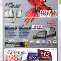 Read more about Toshiba Notebooks, AIO Desktop PCs, Tablets & Netbooks Promotion Price List 1 - 30 Nov 2012
