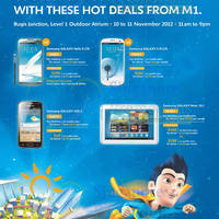 Read more about M1 Smartphones, Tablets & Home/Mobile Broadband Offers 10 - 16 Nov 2012