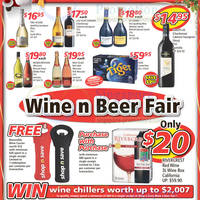 Read more about Shop n Save Wine Fair 29 Nov - 9 Dec 2012