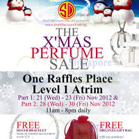 Read more about Staff Discount X'Mas Perfume Sale 21 - 30 Nov 2012