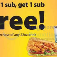 Read more about Subway Buy 1 Get 1 FREE (BOGO) Sub, Wrap & Salad Promo @ NUH Medical Centre 12 Apr 2014