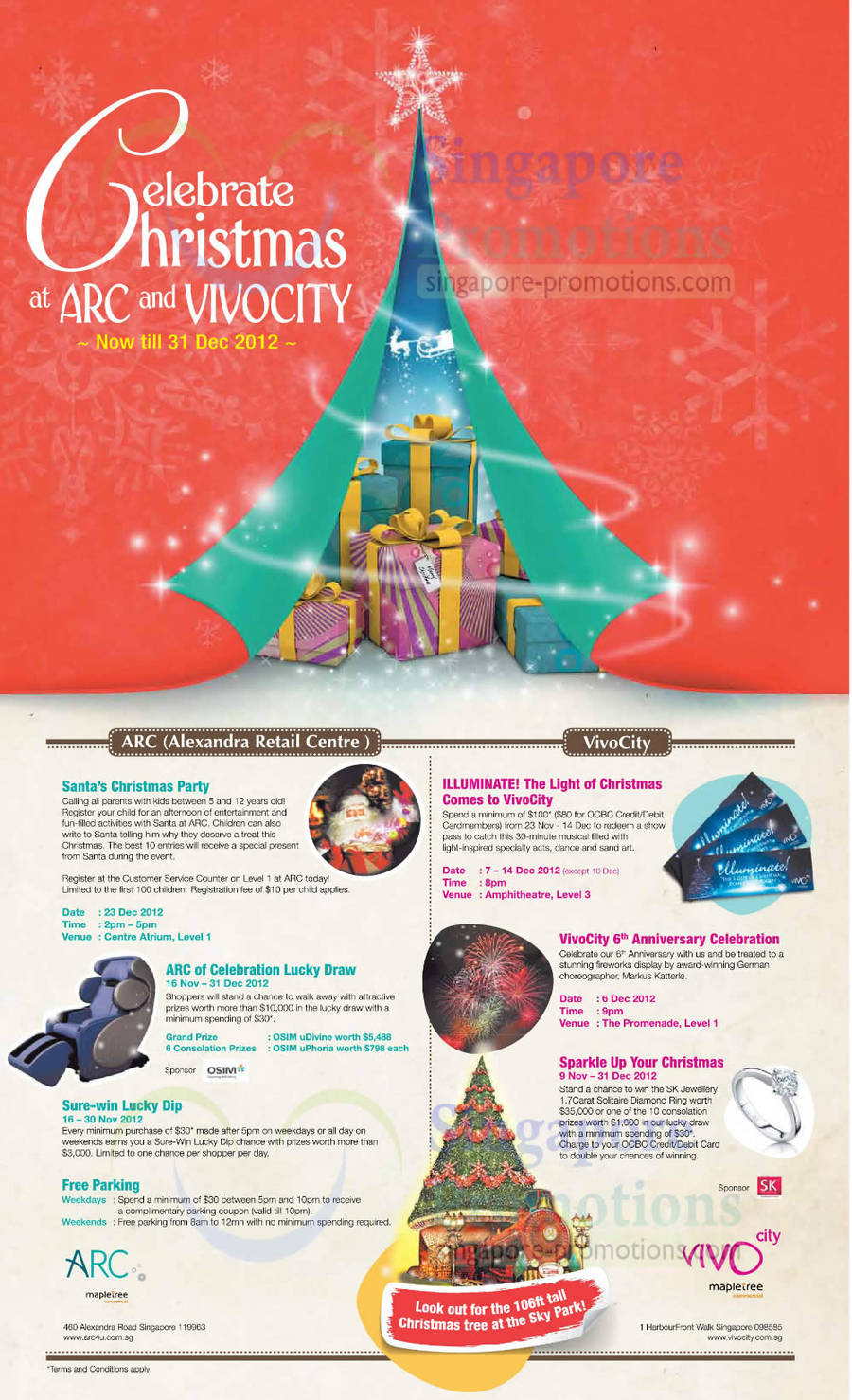Vivo City , ARC 16 Nov 2012