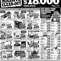 Read more about Courts Massive Clear-Out Promotion Offers 9 - 13 Nov 2012