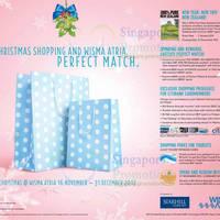 Read more about Wisma Atria Christmas Promotions & Offers 16 Nov - 31 Dec 2012