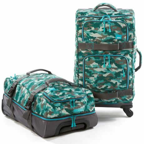 Xplore Drop-Bottom Wheeled Duffle