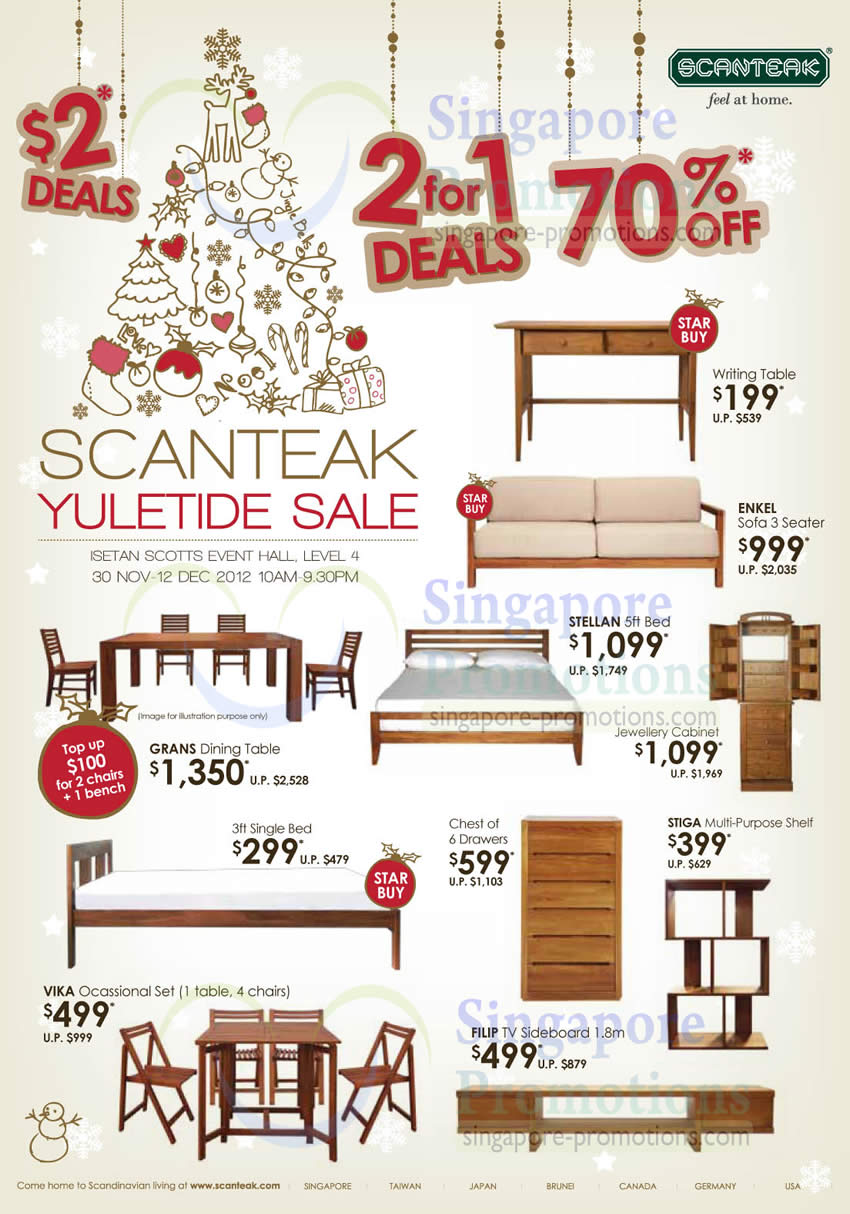 Yuletide Sale, 70 Percent Off