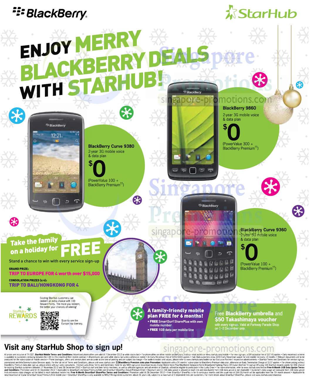 Blackberry Curve 9380, Blackberry Curve 9860, Blackberry Curve 9360
