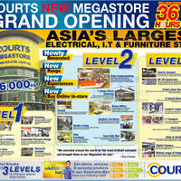 Read more about Courts New Megastore Marathon Sale 1 - 2 Dec 2012