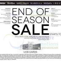 Read more about Dsquared2, MaxMara, Marina Rinaldi, Max&Co, Marelle, iBlues & Y-3 Sale 29 Nov 2012