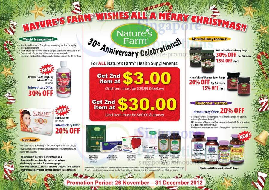 Dynamic Health Raspberry Ketones, NutriXant, Natures Farm Pycnogenol, Mirtogenol, CardioPro, SkinPure 2, CoQ-10, Senior Health Support