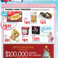 Read more about NTUC Fairprice Electronics, Appliances & Kitchenware Offers 20 Dec 2012 - 2 Jan 2013