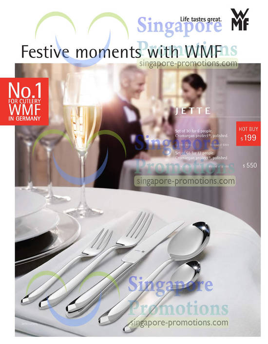 Festive moments with WMF, Jette