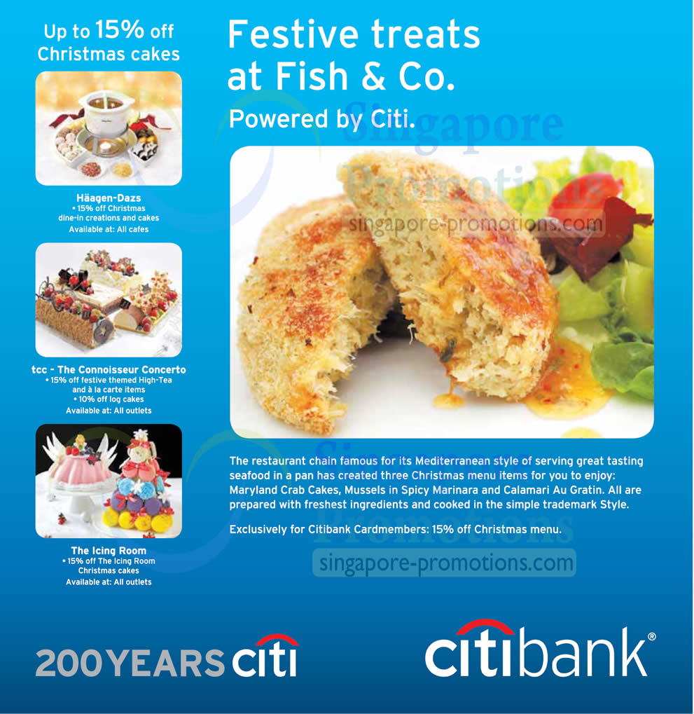 Festive treats at Fish n Co