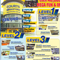 Read more about Courts New Megastore Grand Opening Sale 1 - 2 Dec 2012