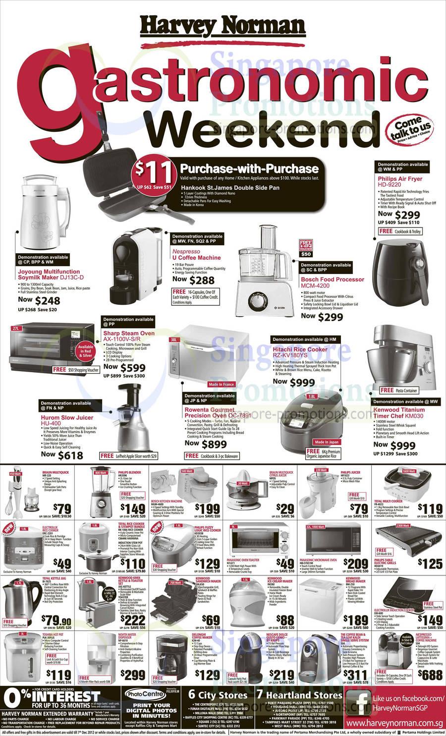 Joyoung DH13C-D Multifunction Soymilk Maker, Nespresso U Coffee Machine, Bosch MCM-4200 Food ...