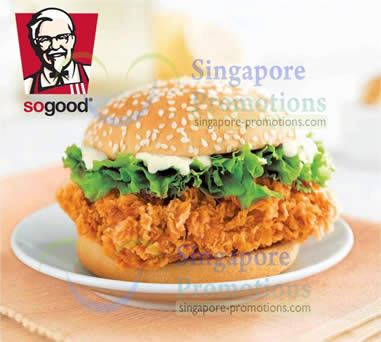 KFC Zinger Burger 10 Dec 2012