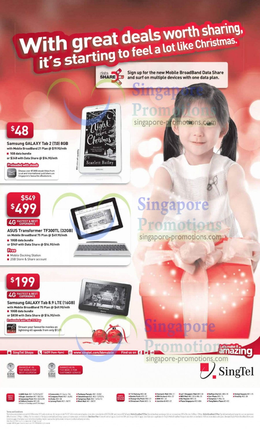 Samsung Galaxy Tab 2 7.0, ASUS Transformer TF300TL, Samsung Galaxy Tab 8.9 LTE
