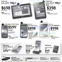 Read more about Samsung Smartphones No Contract Price List 2 Dec 2012