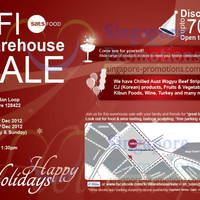 Read more about Singapore Food Industries Warehouse Sale Up To 70% Off 15 - 23 Dec 2012