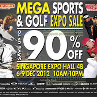 Read more about World of Sports Mega Sports & Golf Expo Sale 2012 @ Singapore Expo 6 - 9 Dec 2012