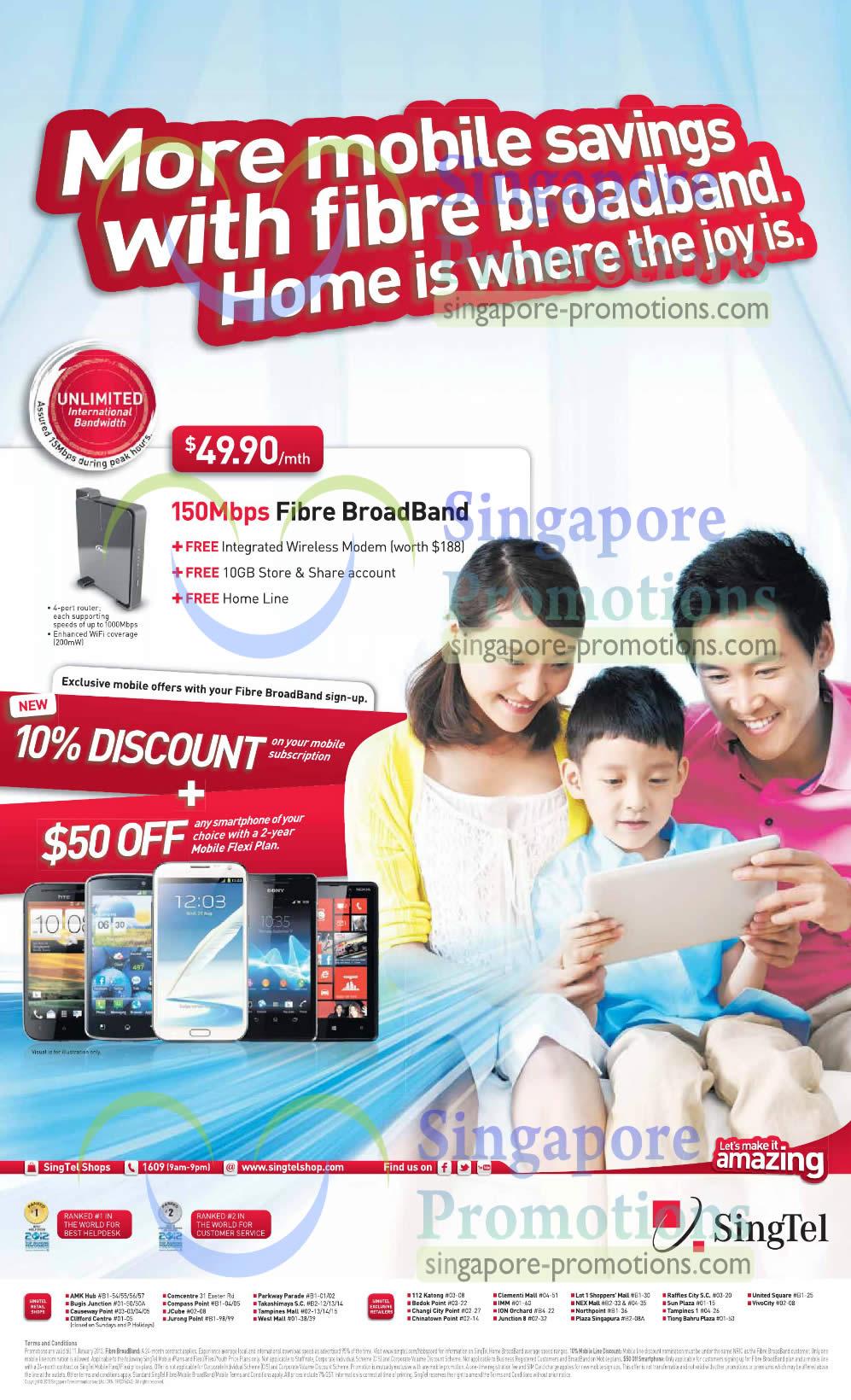 49.90 150 Mbps Fibre Broadband