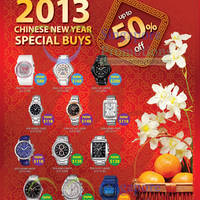 Read more about Casio Watches Up To 50% Off CNY Special Buys 4 Jan - 28 Feb 2013