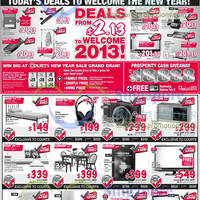 Read more about Courts New Year Sale One Day Offers 1 Jan 2013
