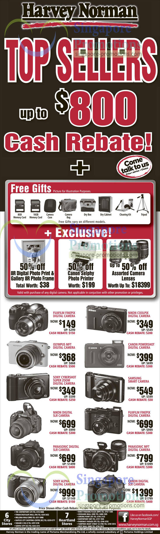Digital Cameras, Fujifilm, Nikon, Canon, Olympus, Sony, Samsung, Panasonic